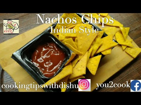 | Nachos Chips Recipe | Tortilla Chips | Easy & Quick Party Snack | Corn Chips | Corn Tortillas |