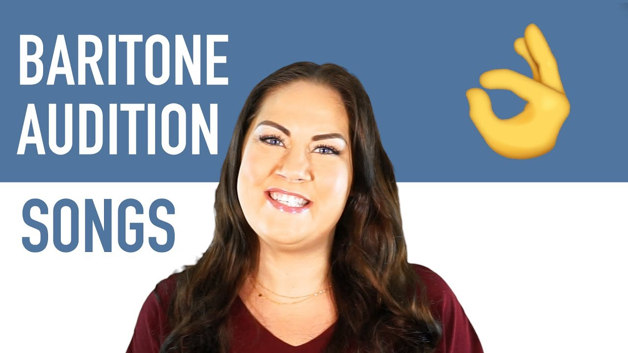 Best Audition Songs for Baritones   Musical Theatre
