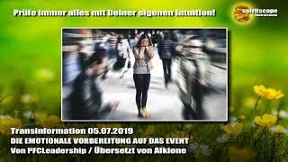 DIE EMOTIONALE VORBEREITUNG AUF DAS EVENT - Transinformation.net