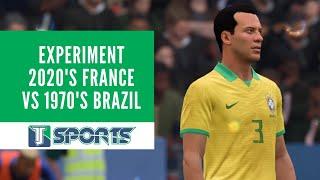 Pele s Brazil vs Antoine Griezmann s France EXPERIMENT FIFA 20