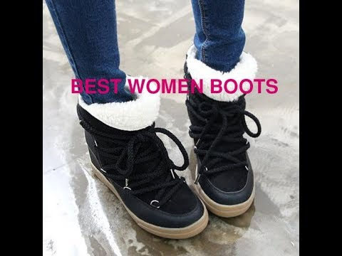 Best winter boots for women - YouTube bf94ce1cf1