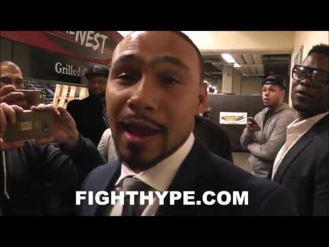 """KEITH THURMAN FULL THRASHING OF """"DADDY'S BOY"""" DANNY GARCIA; UNIMPRESSED AND EAGER TO """"LAY HIM OUT"""""""