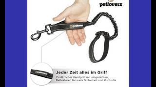 Hundeleinen mit Ruckdämpfer