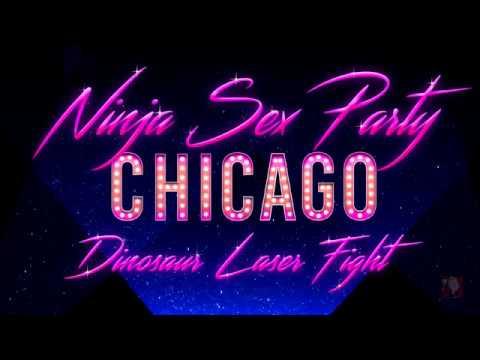 Ninja sex party dinosaur laser fight foto 6