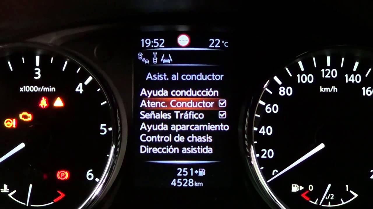 Nissan Qashqai Modelo 2014 Cuadro De Instrumentos YouTube