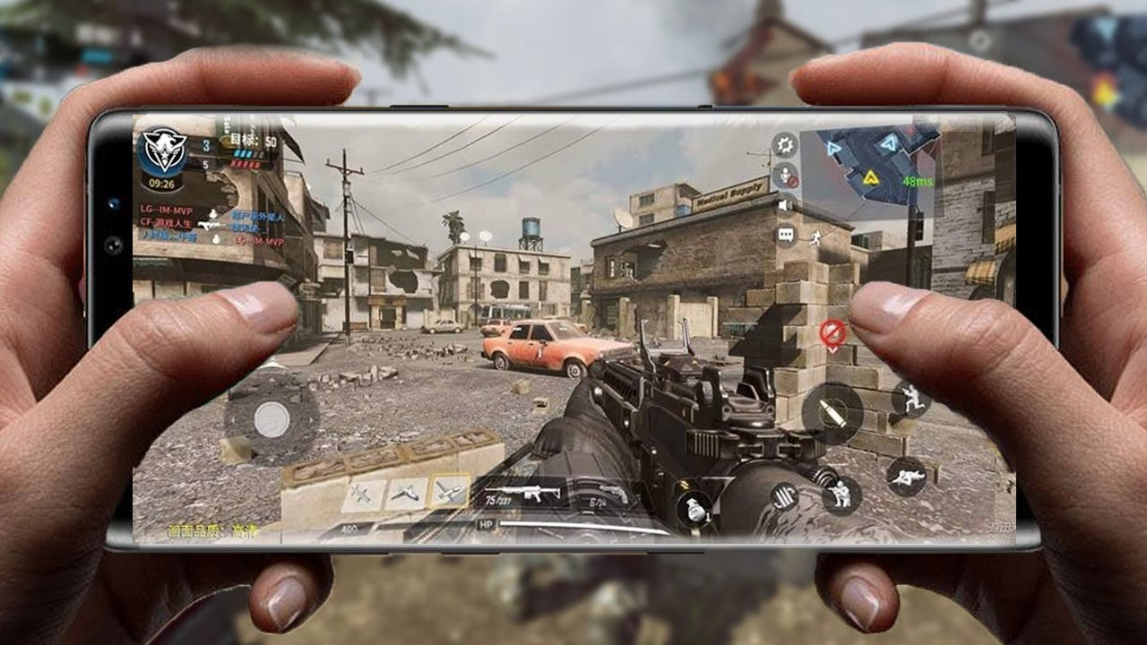 CALL OF DUTY LEGENDS OF WAR MOBILE - MINHA PRIMEIRA GAMEPLAY