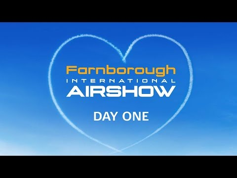 Farnborough International Airshow 2016 Monday