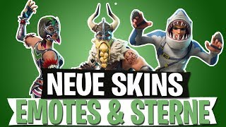 NEUE SKINS LEAK | TÄNZE & SEASON 5 STERNE | FORTNITE BATTLE ROYALE