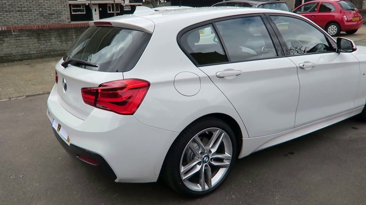 2016 bmw 1 series 116d m sport sunroof walk around start up exterior interior. Black Bedroom Furniture Sets. Home Design Ideas