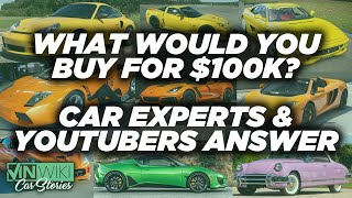 What's the best car you can buy for $100k?