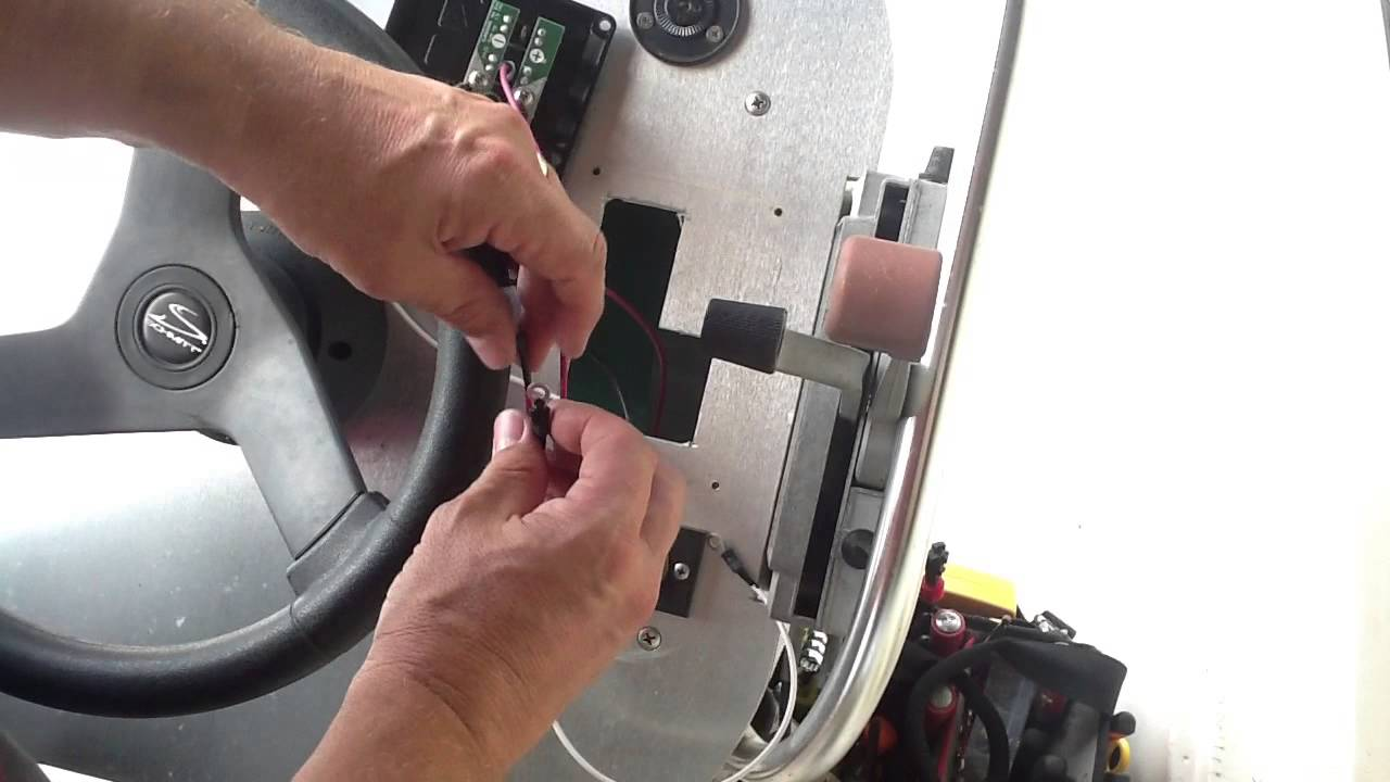 hight resolution of steve s boston whaler restoration part 16 console wiring testing