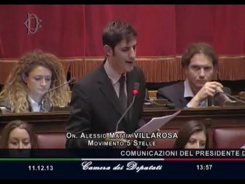 Discorso Camera Villarosa : Alessio villarosa discorso della fiducia voi no youtube