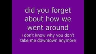 lady antebellum-downtown lyrics