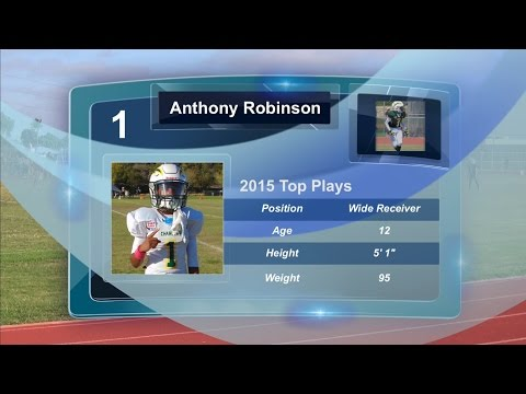 Anthony Robinson : 2015 Top Plays