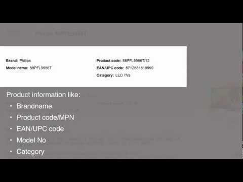 Open Icecat standardized data-sheet