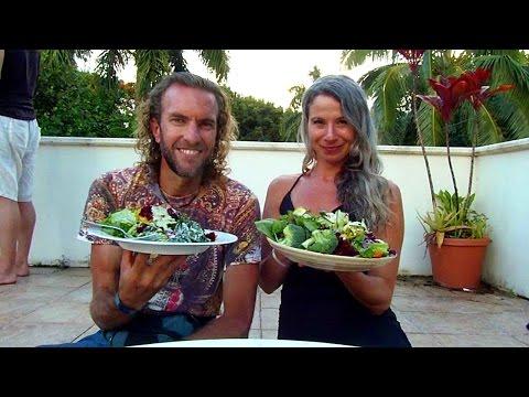 Hawaiian Raw Food Goddess Dance Party!! With Dan McDonald (LifeRegenerator)