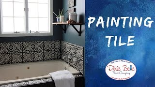 How to Paint Tile in Your Bathroom