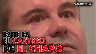 NOTICIA de ÚLTIMA HORA ESTE es el CASTIGO de EL CHAPO