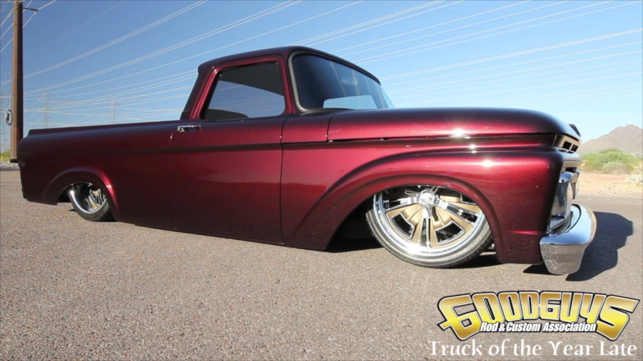 1961 Ford Unibody Goodguys Truck Of The Year Late Gears Wheels
