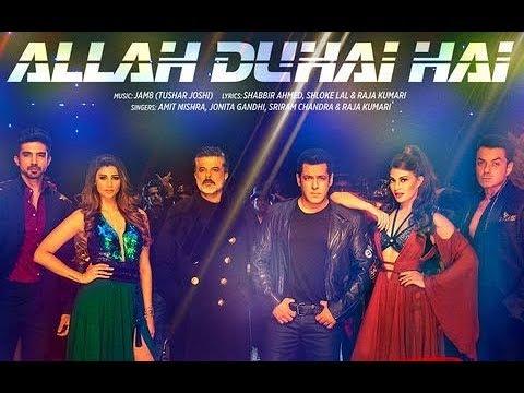 Allah Duhai Hai Song Video - Race 3 | Salman Khan, Amit, Jonita, Sreerama, Raja Kumari