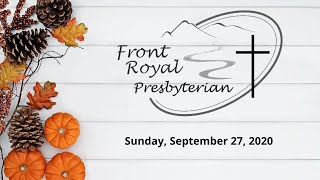 FRPC  September 27, 2020