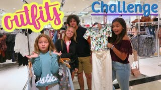 COUSIN VS GIRLFRIEND OUTFIT CHALLENGE | SISTER FOREVER