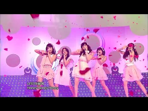 【TVPP】KARA - Honey, 카라 - 허니 @ New Song Stage, Show Music Core Live
