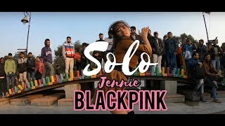 """[ K-POP PUBLIC CHALLENGE IN INDIA ] """"SOLO"""" JENNIE (BLACKPINK) Dance cover by """"Pongkey Ranggsong"""""""