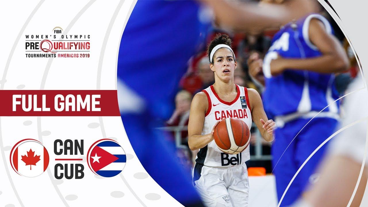 Canada v Cuba - Full Game - FIBA Women's Olympic Pre