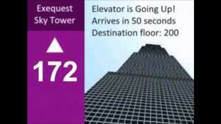 Elevator Indicator Animation - Exequest Tower (Floors 167-200)