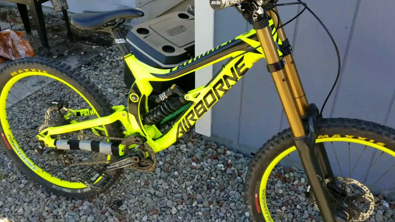 airborne pathogen downhill bike review best downhill bike. Black Bedroom Furniture Sets. Home Design Ideas
