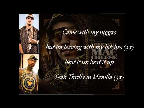 Thrilla In Manilla  On Screen - French Montana