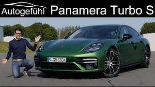 Porsche Panamera Turbo S FULL REVIEW with racetrack Panamera Facelift 2021 - Autogefühl