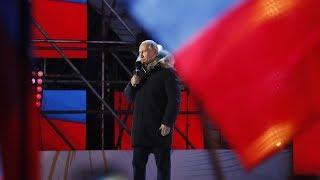 Президентские выборы в России: Путин остаётся ещё на шесть лет