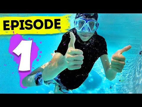 Deep Sea Diving | Episode 1 - The Backyard Pool Games