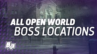 The Division - All Open World Boss Locations - Great Gear & Weapon Hunt - Dailies!