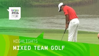Mixed Team Golf - Highlights   Nanjing 2014 Youth Olympic Games