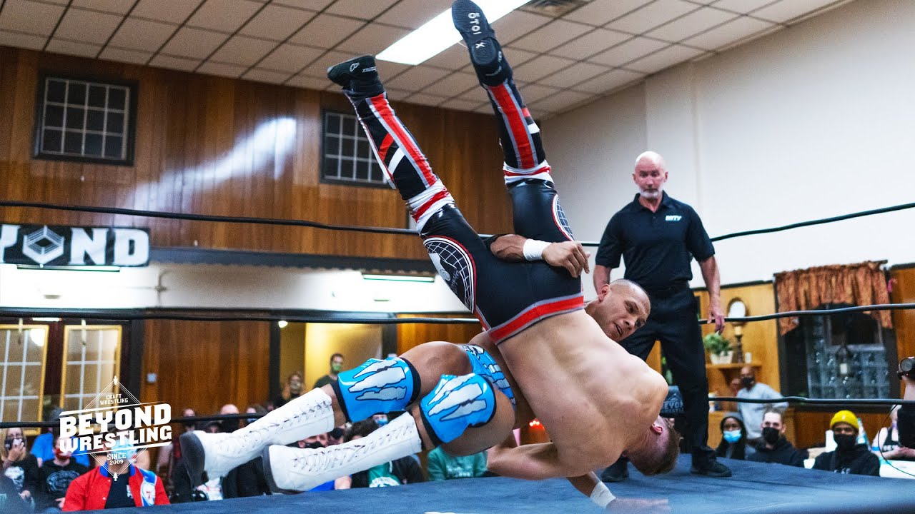 [Free Match] Robo The Punjabi Lion vs. Logan Easton Laroux | Beyond Wrestling (AEW Dark, Jora Johl)