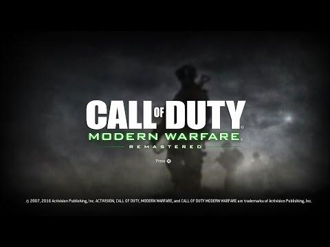 Modern Warfare Remastered Main Menu Multiplayer & Campaign (Modern Warfare Remastered Menu)