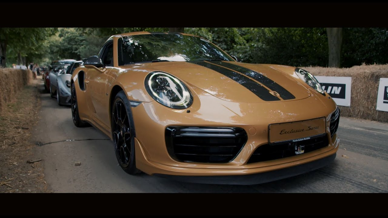 The New 911 Turbo S Exclusive Series Exceptional Design