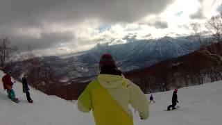 2015年2月22日 妙高杉ノ原スキー場 ペンションイチローのマスター、フラ...