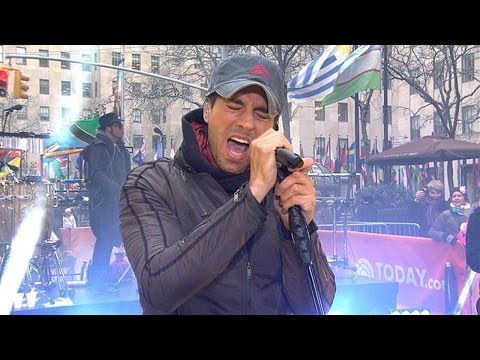 Enrique Iglesias Performs 'Heart Attack' on Today Show! (17 March 2014)