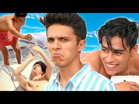 BEST FRIENDS SPA DAY not relaxing  Brent Rivera&39;s Dream Vacation EP 3