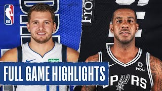 MAVERICKS at SPURS | FULL GAME HIGHLIGHTS | March 10, 2020