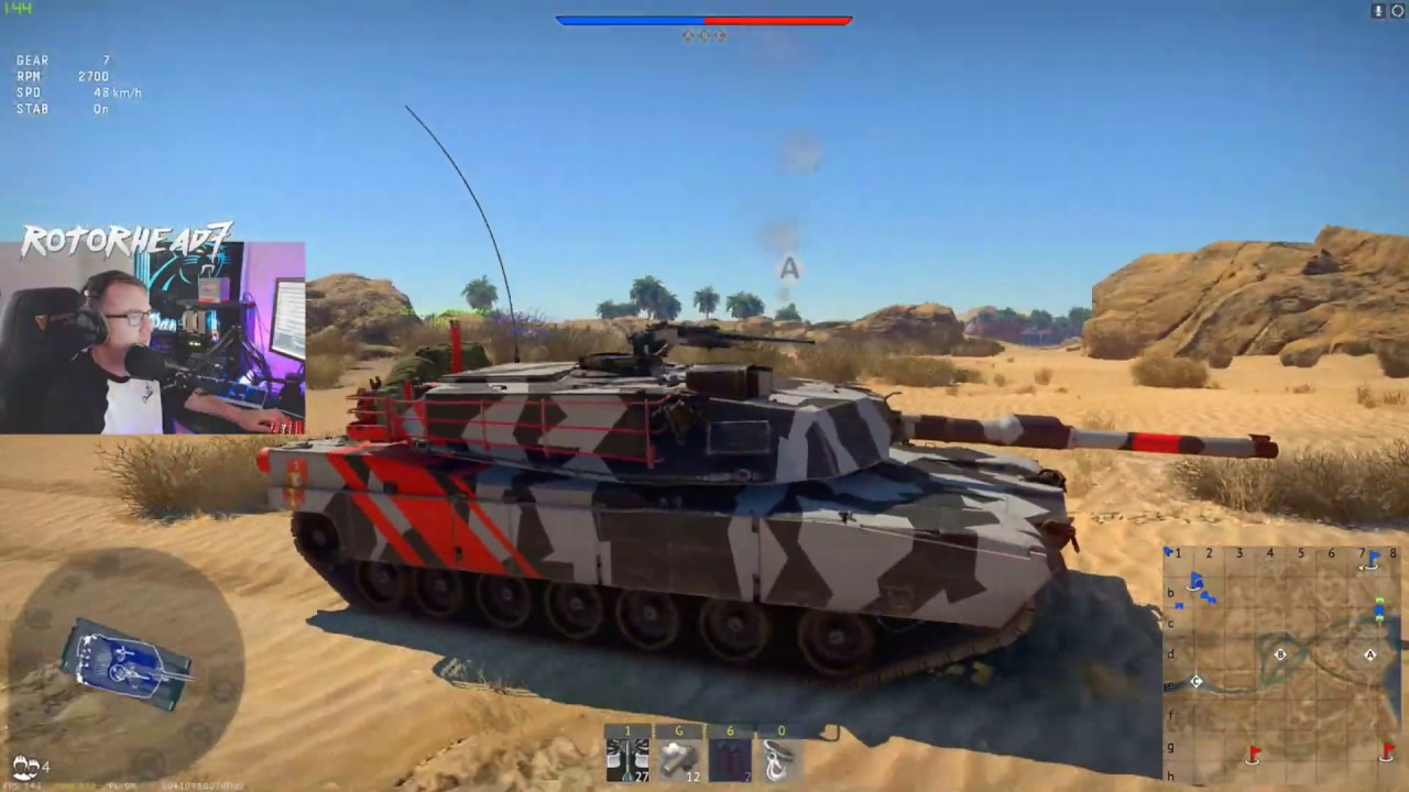 M1A1 12 Kill Carry - War Thunder - YouTube