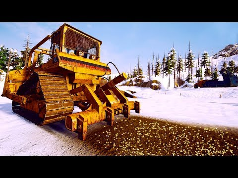 Ripping Up The Frozen Tundra For Major Gold Profits - Gold Rush The Game