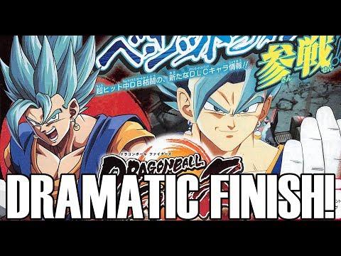 VEGITO BLUE DRAMATIC FINISH & RELEASE WINDOW!!! Dragon Ball FighterZ DLC 2 Info!