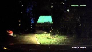 Ночная съемка AdvoCam FD2 Mini-GPS