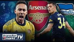 Aubameyang forciert Arsenal-Abgang – Xhaka vor Wechsel zu Hertha BSC? | TRANSFERMARKT