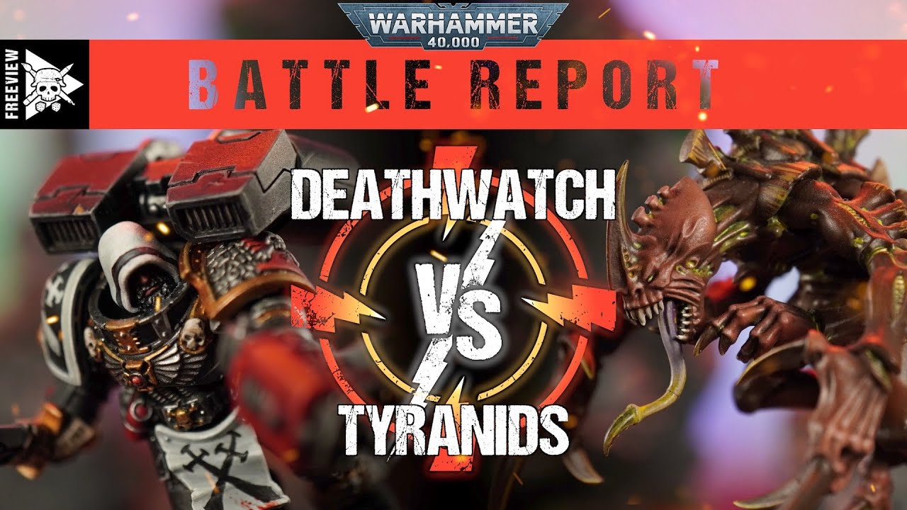 Deathwatch vs Tyranids 2000pts | Warhammer 40,000 Battle Report